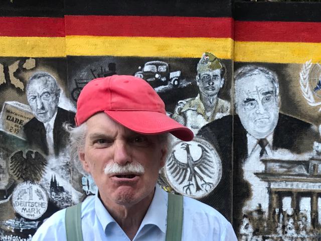 Ich bin Kulturschaffender, frei und unabhängig, weder Marxist noch Freund der Wiedervereinigung a la Helmut Kohl...